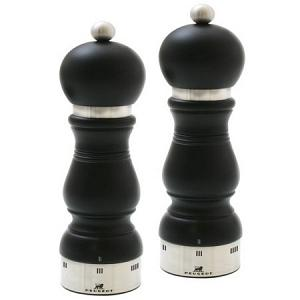 Peugeot Chateauneuf u'Select Black 24cm Salt & Pepper Mill Set